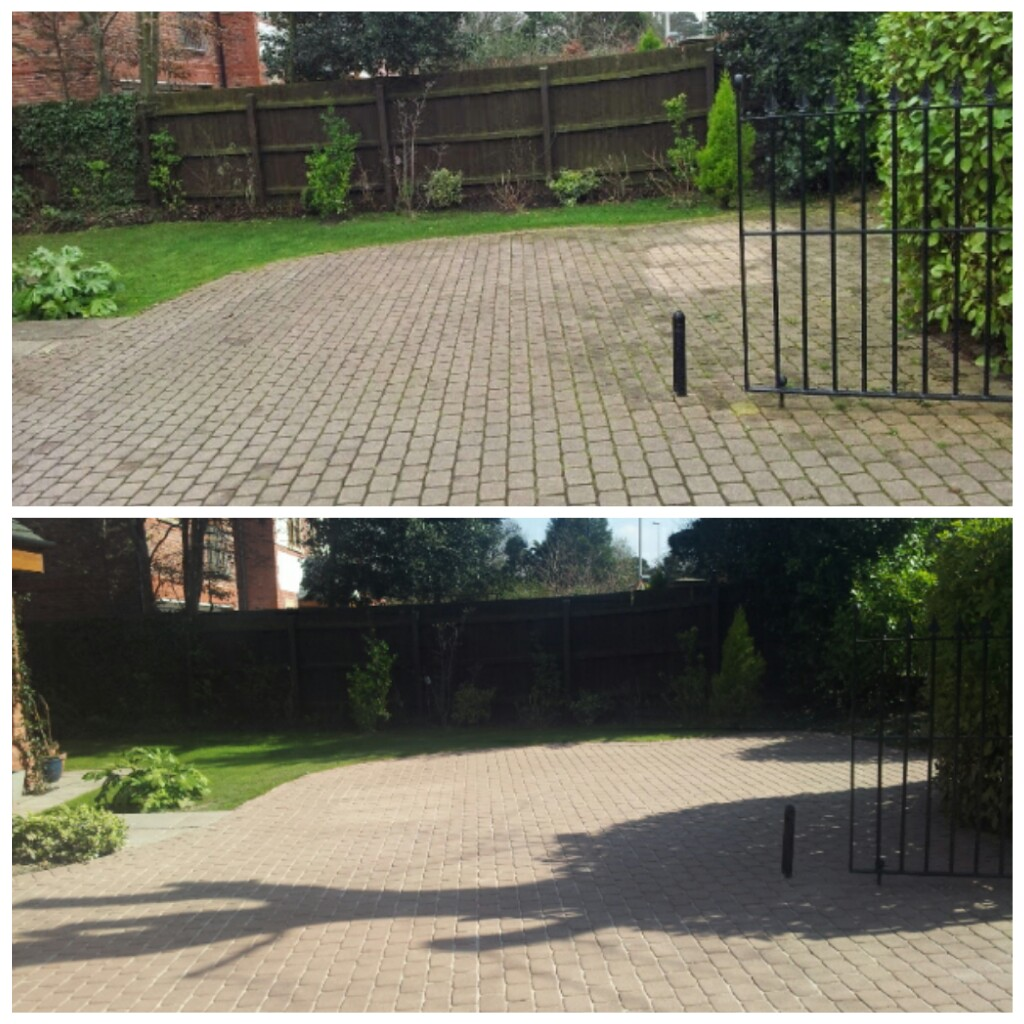 Block Paving Driveway Cleaning & Resanding - Caldy, Wirral
