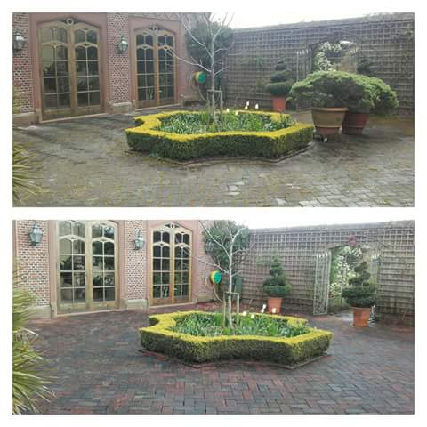 Ruabin Red Brick Cleaning - Tarpoly, Cheshire