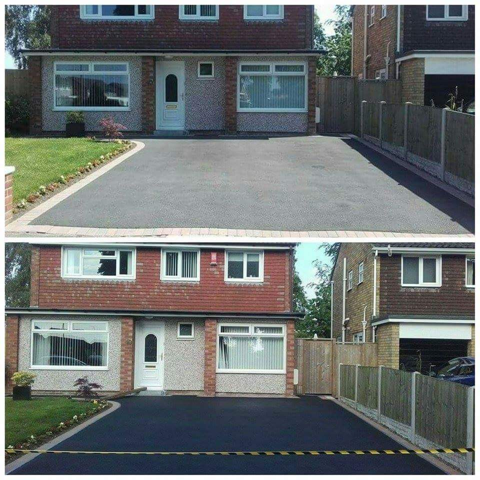 Driveway Cleaning, Oil Patch Removal, Tarmac Restoration - Bromborough, Wirral