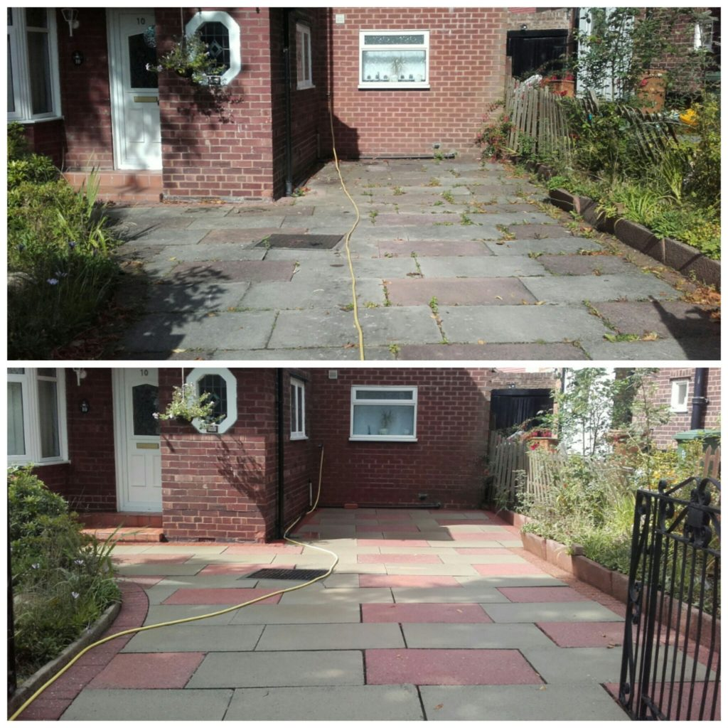Driveway Cleaning - Prenton, Wirral